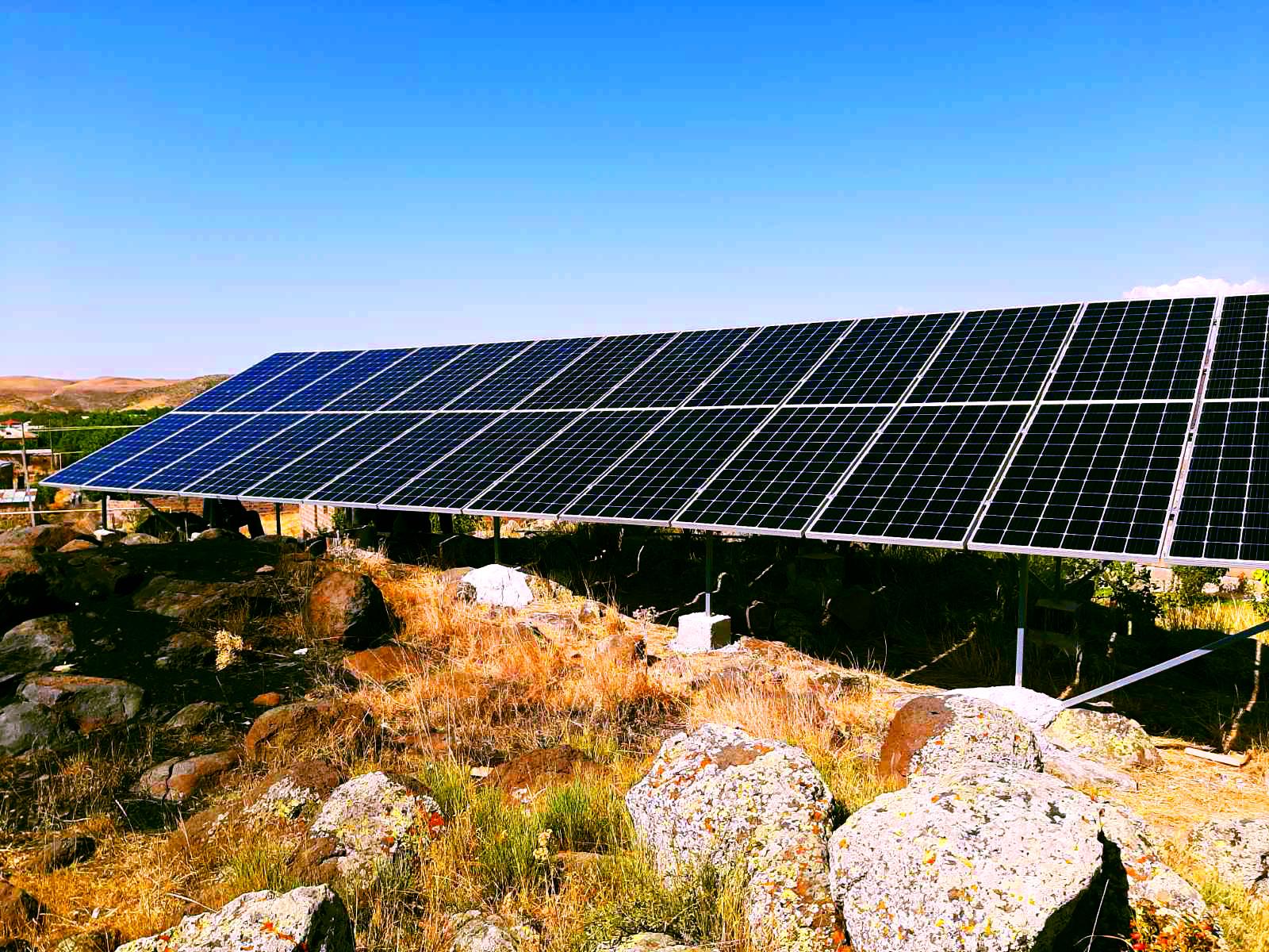 Արևային համակարգեր Թալին համայնքում